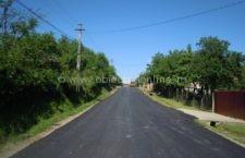 Chirnogi/Au fost recepționați cei 10 km de străzi pe care s-a turnat asfalt