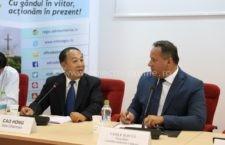 Președintele CJ Călărași s-a întâlnit cu o delegație chineză din provincia Qinghai interesată de agricultură și zootehnie