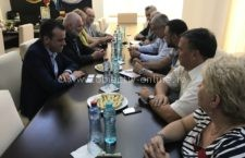 Primăria Călărași/Întâlnire privind intensificarea demersurilor pentru construirea podului Călărași-Silistra