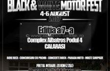 Chopper Academy MC România vă invită la Black & White Motor Fest 2017 – Călărași!