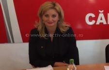 Roxana Pațurcă, reconfirmată ca vicelider al grupului PSD din Senatul României