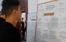 38 absolvenți selectați pentru a ocupa un loc de muncă și alți 2 tineri încadrați pe loc, la bursa organizată de AJOFM Călărași
