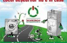 Călărași/În zilele de 27 și 28 octombrie se colectează deșeurile electrice și electronice
