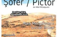"""Spectacolul de teatru – """"Șofer/Pictor"""", de Hillel Mittelpunkt, pe scena Teatrului Călărășean"""