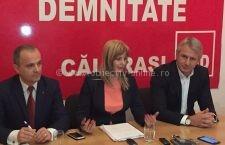 Roxana Paţurcă şi Eugen Teodorovici, conferinţă de presă comună la Călăraşi pe tema modificărilor fiscale