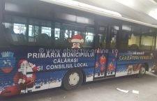"""Autobuzele Alitrans, """"îmbrăcate"""" în haine de sărbătoare"""