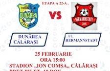 AFC Dunărea Călărași/Doar 4 abonamente au fost achiziționate, până acum, la tribuna oficială, pentru retur
