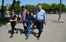 """Primăria Călărași/Cinci elevi ai Liceului Danubius au participat la """"Ziua porților deschise pentru liceeni"""""""