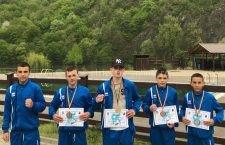 Boxeri călărășeni pe podium la Cupa României Cadeți 2018