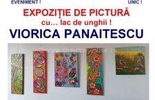 Direcția de Cultură Călărași/Expoziție inedită de pictură cu… lac de unghii