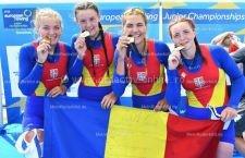 Canotoarele CSM Călărași, medalii la Campionatele Europene de canotaj pentru juniori 2018!