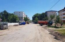 Străzile din Lotul 1 (Mușețelului, Știrbei Vodă și Cuza Vodă) au intrat în reparații