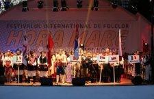 """Festivalul Internaţional de Folclor """"Hora Mare"""" – Călărași 11 – 15 august"""
