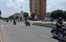 Video | Parada motocicliștilor de la Black and White Motor Party Călărași