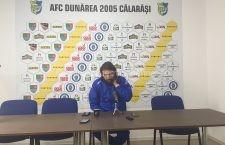 """Dinamo – Dunărea Călăraşi 1-1 /Dan Alexa: """"Mă mulţumeşte acest egal pentru că am avut o deplasare grea în Ştefan cel Mare"""""""