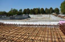 Bazinul de înot din Călărași va fi gata anul viitor