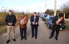 Președintele CJ Călărași a inaugurat astăzi DJ 307 Vlad Țepeș – Vâlcelele