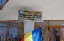 """""""Locuri de muncă sănătoase pentru toate vârstele"""", campanie a ITM Călărași"""