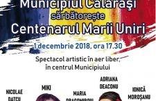 Program special de 1 Decembrie: survol de aeronave militare, retragere cu torțe și spectacol folcloric