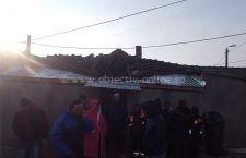 Cele 6 familii cărora le-a explodat casa au primit ajutor din partea Primăriei Călăraşi