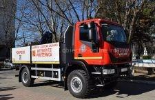 ISU Călăraşi a primit un vehicul pentru muniţie neexplodată