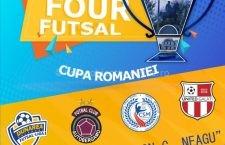 Mâine, la Călărași, încep partidele din Final Four Cupa României la futsal