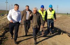 Ministrul Agriculturii, Petre Daea, a fost prezent luni la Călărași
