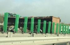 Video   Accident grav pe A 2 la Cernavodă. Circulația este blocată
