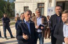 Video | Dacian Cioloș a vorbit la Călărași despre europarlamentare dar și despre alegerile locale de la anul