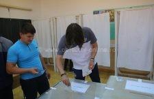 Dan Alexa, antrenorul Dunării, a votat astăzi în comuna Vâlcelele