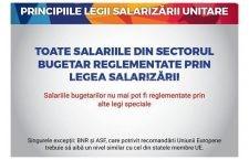 (P) Efectul pozitiv al Legii salarizării unitare pentru salariaţi și pentru economie