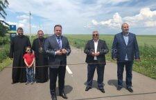 Video | Drumul Județean care leagă Valea Presnei de Gurbănești a fost inaugurat
