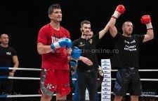 Meciuri spectaculoase în Gala Colosseum de la Călărași! Cosmin Ionescu și-a păstrat titlul mondial
