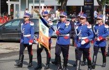 Video | Paradă militară organizată în cinstea drapelului României