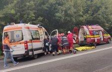 Video | Două persoane au murit în această seară într-un grav accident rutier
