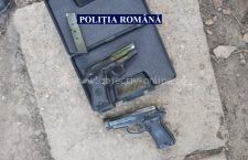 Focuri de armă în Tămădău! A tras cu pistolul în mașina unor persoane cu care avea un conflict