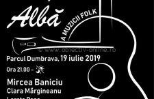 Noaptea Albă A Muzicii Folk, vineri 19 iulie, pe scena din Parcul Dumbrava