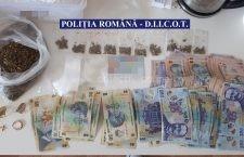 Percheziții în Călărași! 9 persoane au fost reținute pentru trafic de droguri