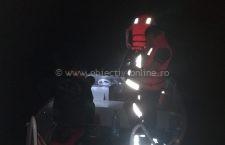Pompierii militari îi caută și astăzi pe bărbați care au dispărut în Dunăre ieri seară