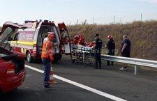 Trafic blocat pe Autostrada A2 sensul București – Constanța! O persoană a decedat