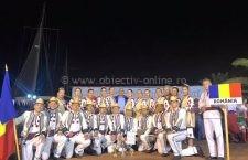 Ansamblul Bărăganul, marele câștigător al Festivalului Neos Marmaras Cup Grecia