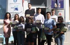 ISJ Călărași i-a premiat pe elevii cu media 10 la BAC și Evaluare