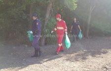 Pompierii călărășeni au strâns gunoaiele din pădurile din Călărași de Ziua Mondială a Curățeniei