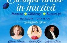 """Duminică, 3 noiembrie, concert al Teatrului Național de Operetă """"Ion Dacian"""""""
