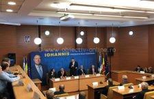 Klaus Iohannis a venit la Călărași să-i mobilizeze pe liberali pentru prezidențiale