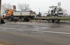 3 persoane au fost rănite și 2 autoturisme distruse în urma unui accident produs astăzi în zona Piscicola