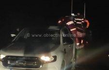 Un bărbat a fost salvat aseară după ce a căzut din barcă în Dunăre