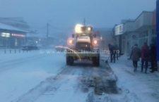 22 de utilaje de deszăpezire acționează în municipiul Călărași