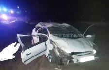 Doi tineri și-au pierdut viața într-un accident petrecut în comuna Ileana