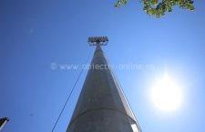 Au început lucrările la instalația de nocturnă de la Stadionul Municipal Călărași